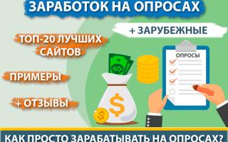 Как сегодня можно заработать на опросах без вложений — ТОП-20 опросников