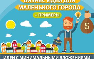 ТОП-30 самых лучших бизнес-идеи для маленького города с примерами