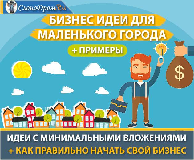 ТОП-30 лучших бизнес-идеи для маленького города с примерами